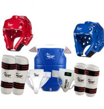 WTF Taekwondo Sparring Gear Set
