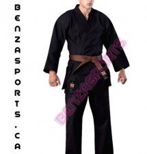 Heavy Weight Black Karate Uniform