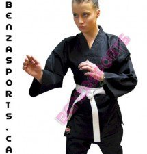 Black Karate Gi 9 Ounce