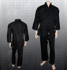 Kung Fu Uniform Black