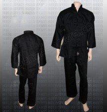 Kung Fu Uniform Black