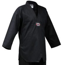 Black Master Taekwondo Uniform