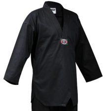 Black Master Taekwondo Uniform