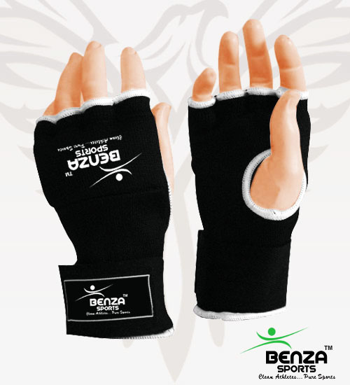 Fitness Inner Gloves: Hand Wraps Inner Glove Without Thumb
