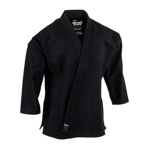 Heavy Weight Black Karate Uniform
