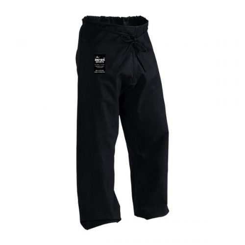 Heavy Weight Black Karate Pant