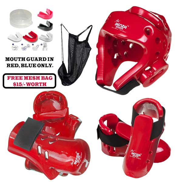 taekwondo karate sparring gear set
