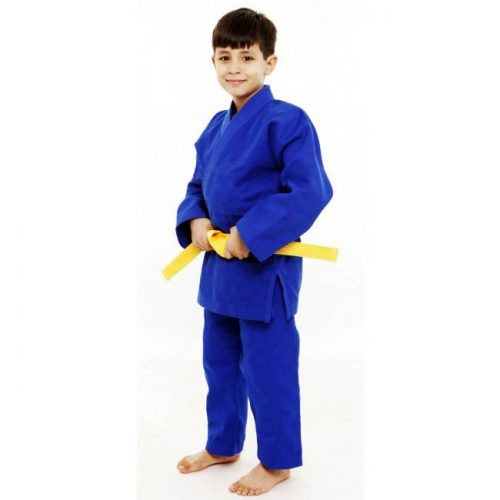 Light weight beginner Judo Gi colour blue