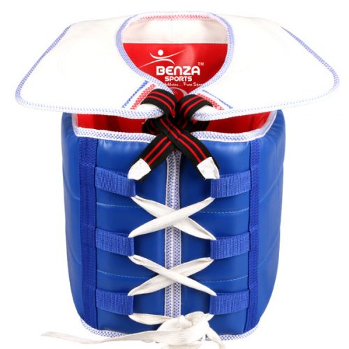 taekwondo wtf sparring chest guard-back
