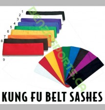 Kung Fu Sashes for martial arts