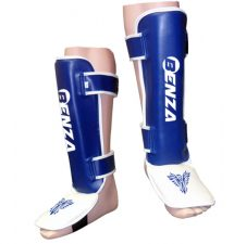 Muay Thai youth kickboxing shin guards with instep