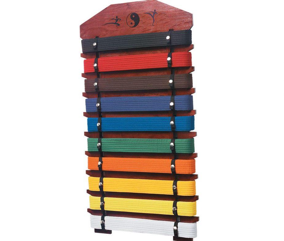 Karate Belt Display Rack 10 Level Karate Taekwodno