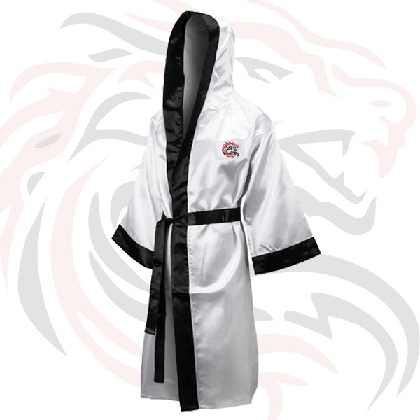c3bfdba46b Boxing Robes for competition full length Colour  White