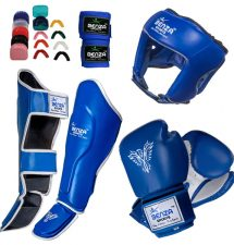 Muay thai sparring gear set