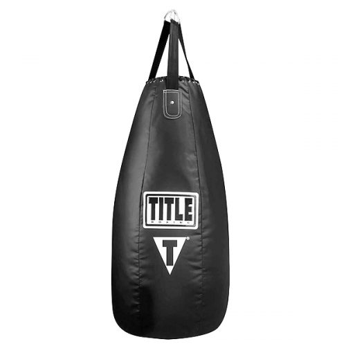 Title Tear Drop Heavy Bag