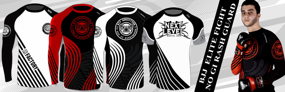 BJJ No Gi Rash Guards