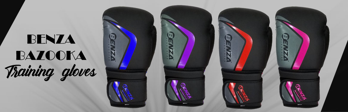 BENZA BAZOOKA INFUSED FOAM BOXING GLOVES