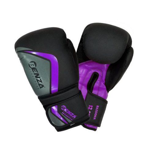 Benza Bazooka Infused Foam Boxing Glove Purple