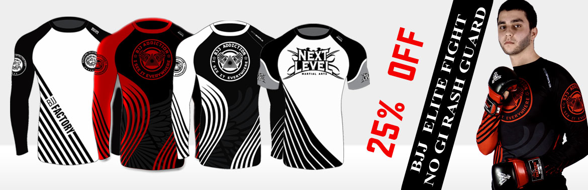 Brazilian Jiu-Jistsu No Gi Rash Guard