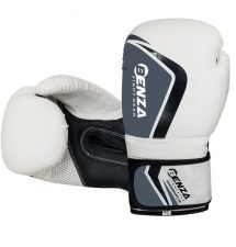 Benza Bazooka Infused Foam Boxing Glove White