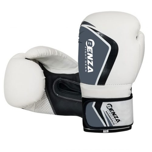 Benza Bazooka Infused Foam Boxing Glove White