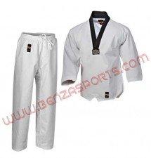 Medium Weight 9 OZ Taekwondo Gi BLK Collar
