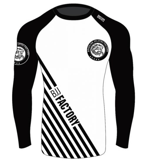 Bjj factory long sleeves rash guard